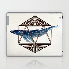 whale in the icosahedron Laptop & iPad Skin