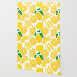 Lemon Harvest Wallpaper