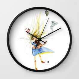HOLD ON TOTO Wall Clock