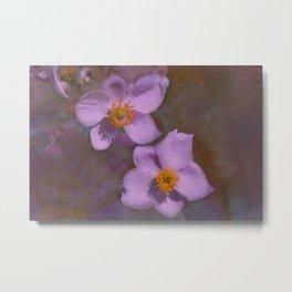 Petals in Lavender  Metal Print