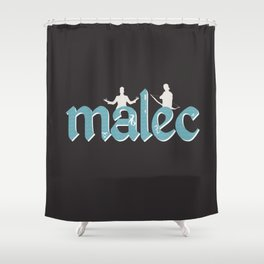 Malec | Shadowhunters Shower Curtain