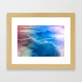sea sea Framed Art Print