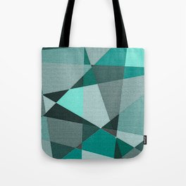 Collaged Tote Bag