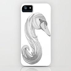 Swan Love Slim Case iPhone (5, 5s)
