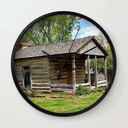 Prairie Grove Battlefield - The Latta Homestead, Established in 1834, No. 3 of 5 Wall Clock