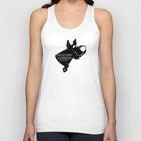 arya Tank Tops featuring Mystery is coming by dutyfreak