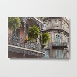 New Orleans Looking Down Royal Metal Print