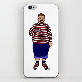 happy augustus iPhone Skin