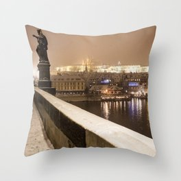 Prague 7 Throw Pillow