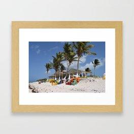 Beach Time, Anegada, BVI  Framed Art Print