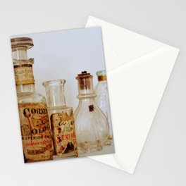Vintage Bottle Still Life Stationery Cards