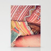 moroccan Stationery Cards featuring Moroccan by Paint Pattern Photo