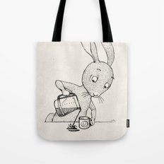 Crooked Coffee Tote Bag