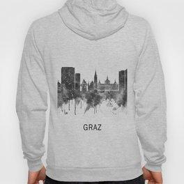 Graz Austria Skyline BW Hoody