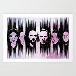 Swans - the glowing man Art Print