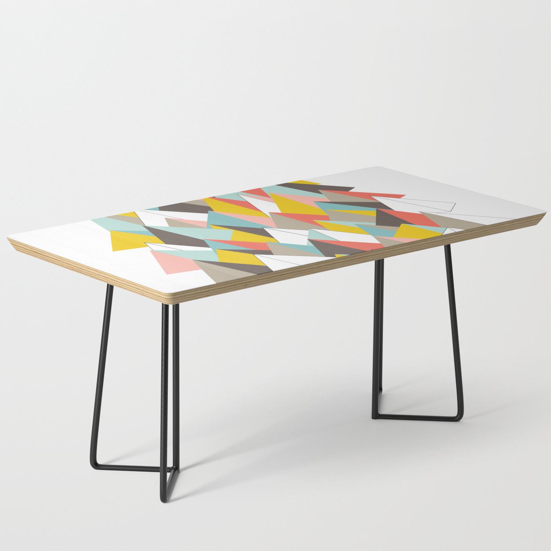 Mid Century Modern Mountain Range Coffee Table By Michelledrew