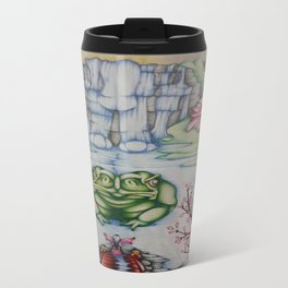 The Toad of Cherry Blossom River Travel Mug