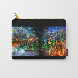 Nintendo Vs Sega Carry-All Pouch