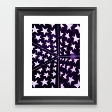 Star Gazing Framed Art Print