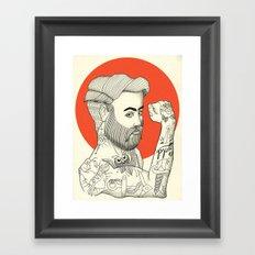 Son of a Sailor Framed Art Print