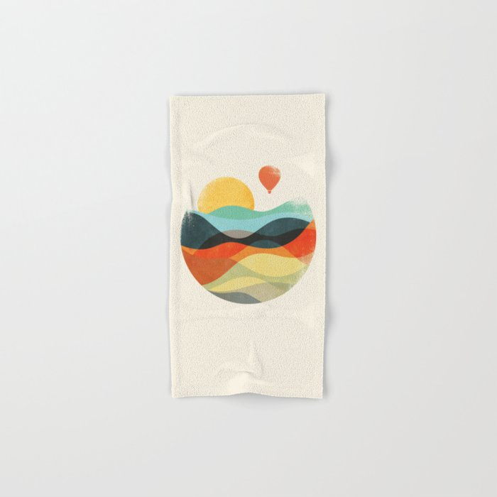 Let the world be your guide Hand & Bath Towel