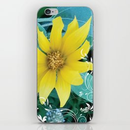 Shine like a Sunflower iPhone Skin
