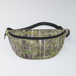 Tall Trees on the shore Fanny Pack