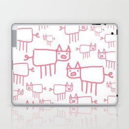 I Love Pigs Laptop & iPad Skin
