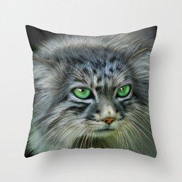 Pallas Cat Throw Pillow