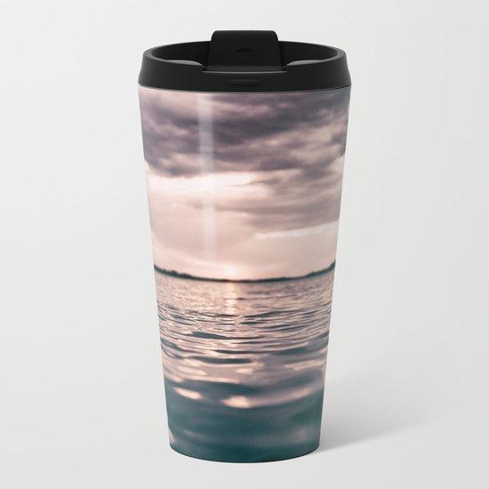The calm #lake Metal Travel Mug