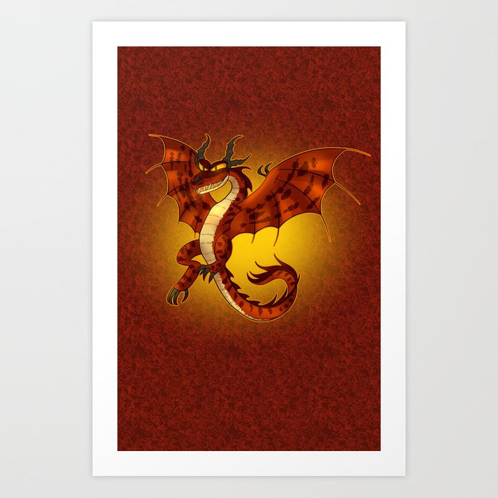 How to train you dragon 2 hookfang art print by prpldragon society6 how to train you dragon 2 hookfang art print ccuart Choice Image