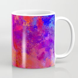Colorful Splatter Coffee Mug