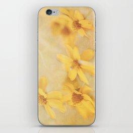 Dreamy Yellow Coreopsis iPhone Skin