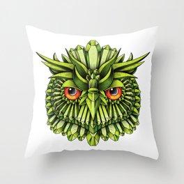 Crystal Owl EDC Throw Pillow