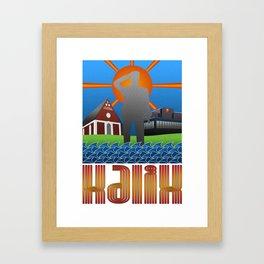 Kalix summer Framed Art Print