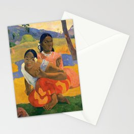 Affordable Art $300,000,000 When Will You Marry by Paul Gauguin Stationery Cards