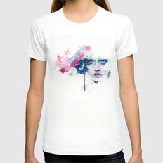 garden in the ceiling LARGE White Womens Fitted Tee