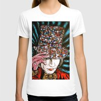 willy wonka T-shirts featuring Johnny Depp as Willy Wonka by Portraits on the Periphery