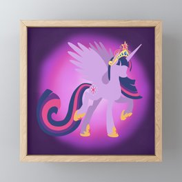 Princess Twilight Sparkle Framed Mini Art Print