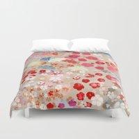 blossom Duvet Covers featuring Blossom by Marta Olga Klara