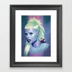 Rich B**ch Framed Art Print