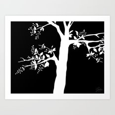 Chokecherry Tree Art Print