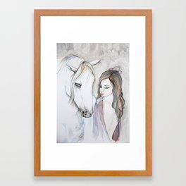 Gypsy and Companion Framed Art Print
