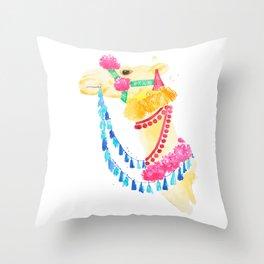 Marrakesh Camel Throw Pillow