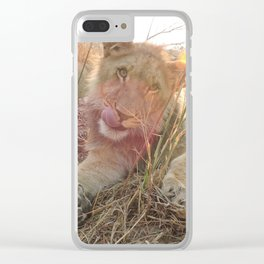 Africa and Alika Clear iPhone Case