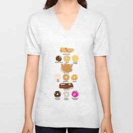 A Dozen Donuts Unisex V-Neck