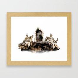 Saints Framed Art Print