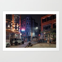 North Square Oyster 1 Art Print