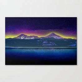 Twin Peaks - Scenic Wall Art Canvas Print