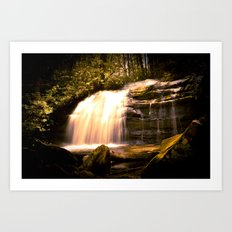 Appalachian Waterfall Art Print